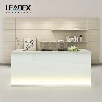 Moderne Aussehen Bürogegen Design Glas Rezeption - Buy Product on ...