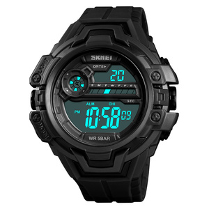 SKMEI 1383 Fashion LED Electronic Watches Mens Military Sports Digital Watch Casual Countdown 24 Hour Clock relogio masculino