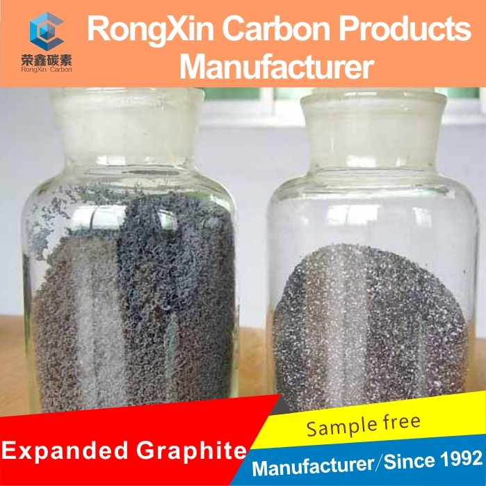 high pure natural expanded graphite for green mercury-free alkaline battery