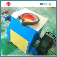 30kg Aluminum induction melting furnace