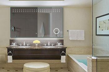 Diseño Moderno Cuarto De Baño Espejo Mágico Del Sensor Caja De Luz ...
