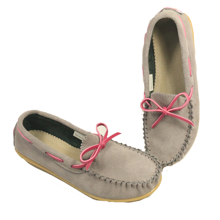 420a8fc6454 High Quality Women Leather Loafers Comfortable Moccasins Wild Breathable  Summer Driving Bowknot Flats Casual Shoes