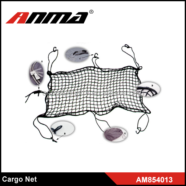 Flexible Nylon Car Rear Cargo Trunk Storage Net