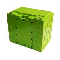 12V 100Ah Lithium battery box Can be placed 260pcs 18650 battery li-ion battery case