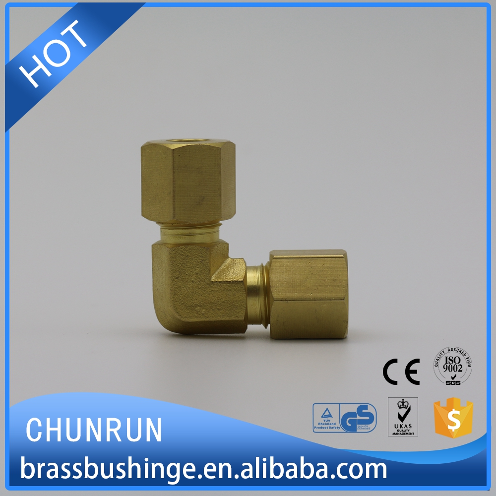 wholesale refrigeration copper tube 90 degree swivel elbow