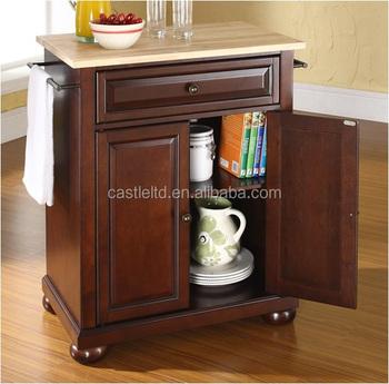 solid hardwood top kitchen cart kitchen island buy solid kitchen island cart wood storage cabinet rolling breakfast