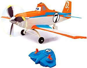 Disney Planes Remote Control Air Power Dusty With Infrared Remote Control (Non-Flying)