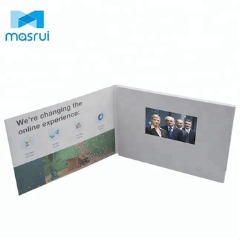 A5 a4 video greeting card with 5 inch lcd screenbirthday marriage a5 a4 video greeting card with 5 inch lcd screenbirthday marriage cards m4hsunfo