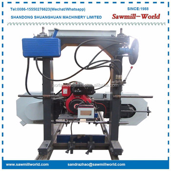 Portable Horizontal Diesel Saw Mill Machine