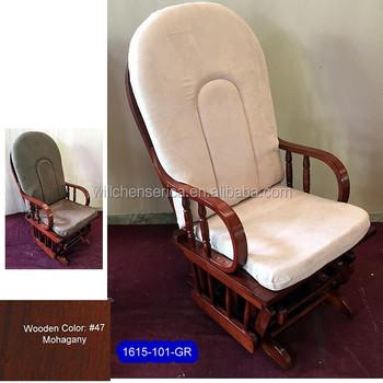 1615 1001 Wooden Glider Rocker Without Ottoman Buy Furniture Glider Rockercheap Swivel Rocker Chairglider Rocker Ottoman Product On Alibabacom