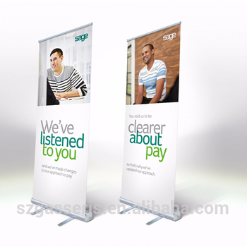 Exhibition Stand Roll Up : Roll up banner and roll up banners stands