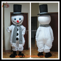 Christmas Wholesale Snowman Mascot Cartoon Costumes Adult Wearing Cosplay Costumes