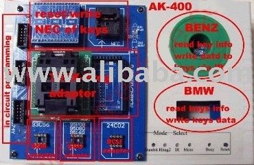 Smart key maker AK400, AK400 key programmer for Benz/bmw