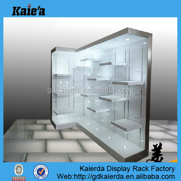 Lighted Gl Display Case High End Cabinet With Lights