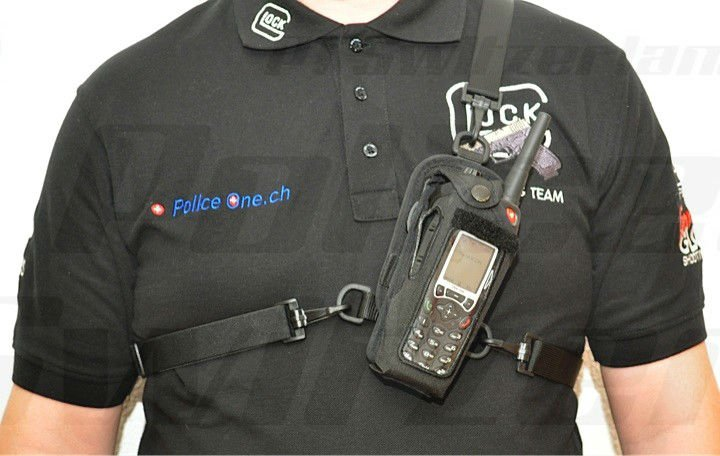 P1 all in one two way radio pouch Kit for TPH700 Cassidian EADS