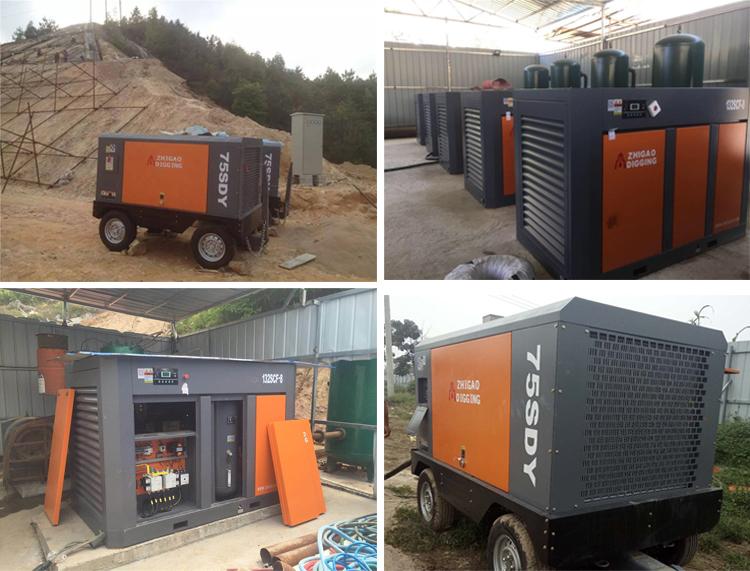 Hoge Kwaliteit SDY Serie Draagbare Elektrische Schroef compressor