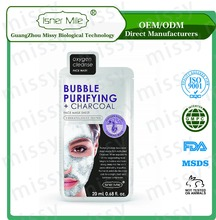 [MISSY] OEM/ODM Private Label Charcoal Bubble Purifying Fack Mask