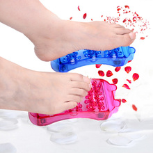 China wholesale cheap portable footcare health plastic rotating personal comfort foot spa massager