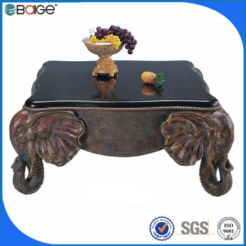 C 3350 Resin White Tiger Coffee Table Home Furniture