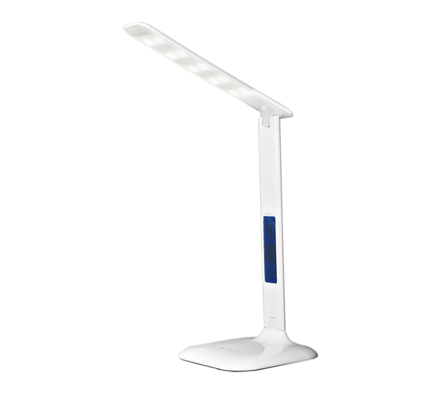 2017New LED Desk Lamp,Table Lamp For Office Reading,5-Levels Touch Dimmable Desk Lamp With LCD Screen, Eye-Care Table Lamp,Flexible Portable Lamp