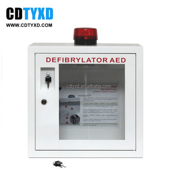 Delicieux For AED Indoor Defibrillator Cabinet With Alarm