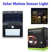 16 LED Solar Motion Sensor Light, Wireless LED Garden Security Home Light