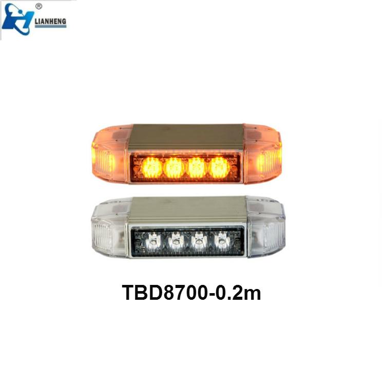 Narrow Full size led lightbar strobe warning light bar for emergency, fire and police