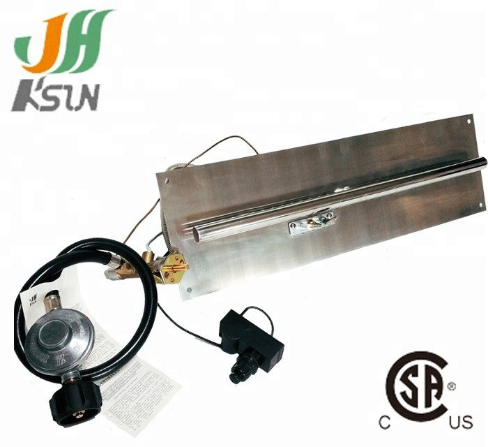 Outdoor Fire Pit Table Gas Burner Parts For Fireplace Cylinder With Staniless Steel Pan Product On Alibaba