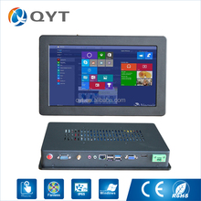 "11.6"" sensitive touch screen long time run ultra slim embedded touch screen panel pc with wince 5.0"