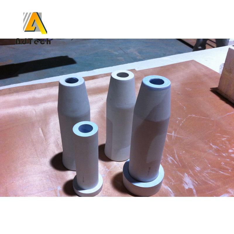 Aluminum Casting Molten Aluminum Tundish Nozzle - Buy Aluminum Casting  Molten Aluminum Tundish Nozzle,Alumina Ceramic Tube,Molten Aluminum Tundish