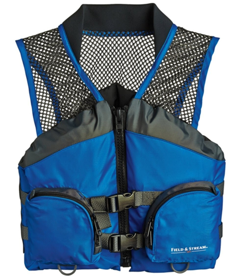 079a3a4f69d3 Get Quotations · Kayak Field   Stream Youth Fishing Life Vest PFD