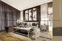 Scenery subject decorative painting wall picture for bedroom silk print fabric