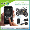 NTO NEW motorcycle gps tracker with engine start/motorbike alarm