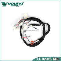 Electric source power auto wire harness clips