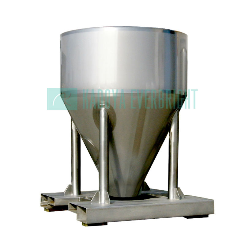 stainless steel powder coffee storage tank for sale from leading manufacturer