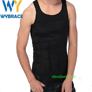 Wholesale Seamless Chest Binder Men's Vest Perfect Slimming Body Shaper