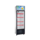 Commercial Supermarket Showcase Beverage Glass Door Display Refrigerator