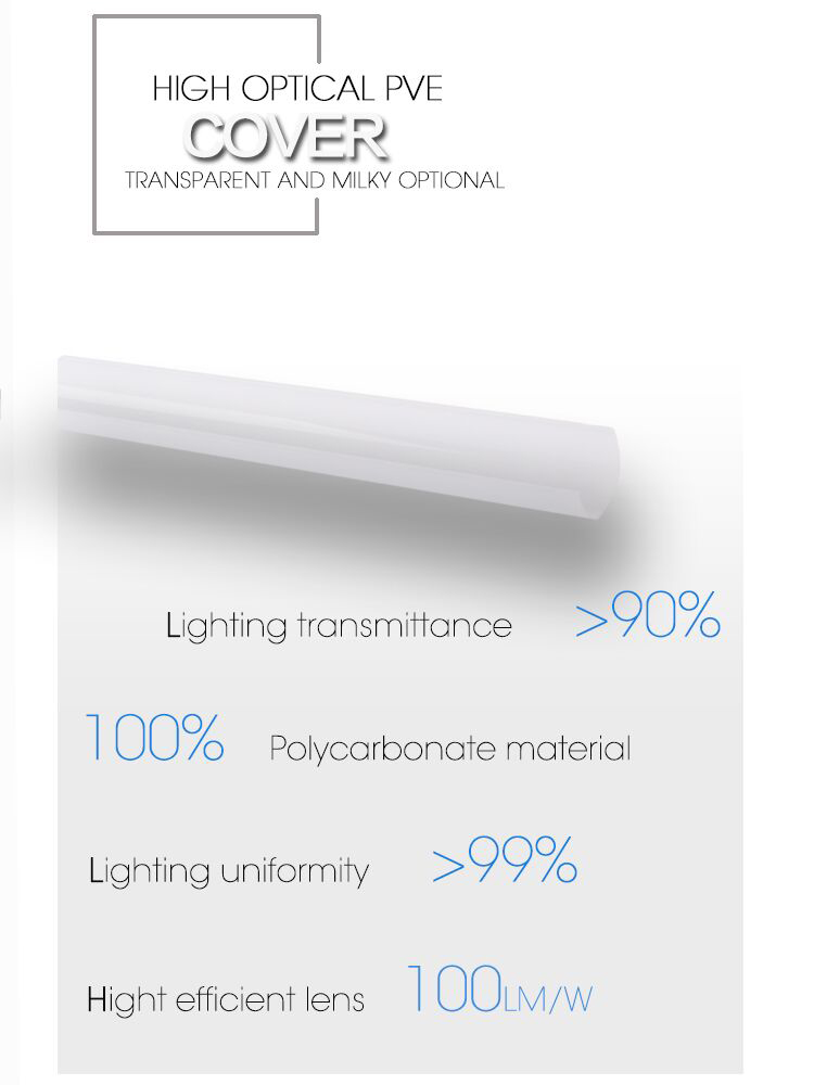 Led tube light used for warehouse, market, mall, store, workshop, or office room