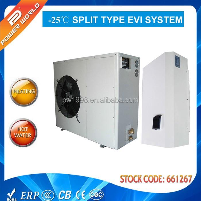 Temperatura ambiente r407c 25c invierno casa 12kw calefacci n o agua caliente auto - Temperatura ideal calefaccion casa ...