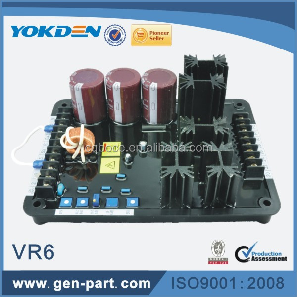 3 Phase AVR VR6 Power Generator Accessories