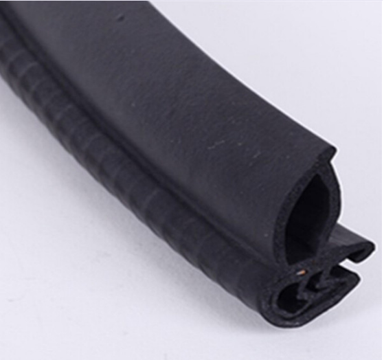 High Quality Extrusion Silicone Sponge Rubber Door Seal Strip
