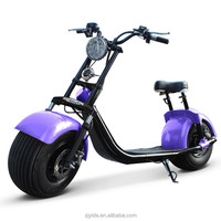 2017 new products 60V 1500W 2 wheel electric scooters for adults outdoor sports with CE