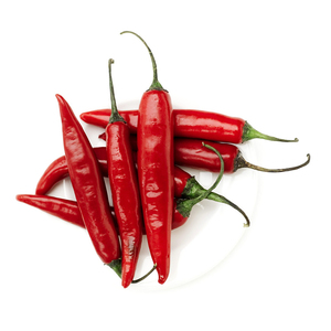 Simulation Artificial Lifelike Vegetable Red Pepper Hot Chili For Home Kitchen Decoration