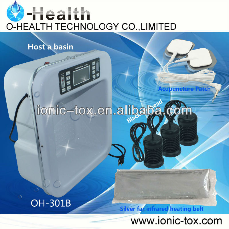 ionic detoxification foot bath OH-301-B new model in 2013