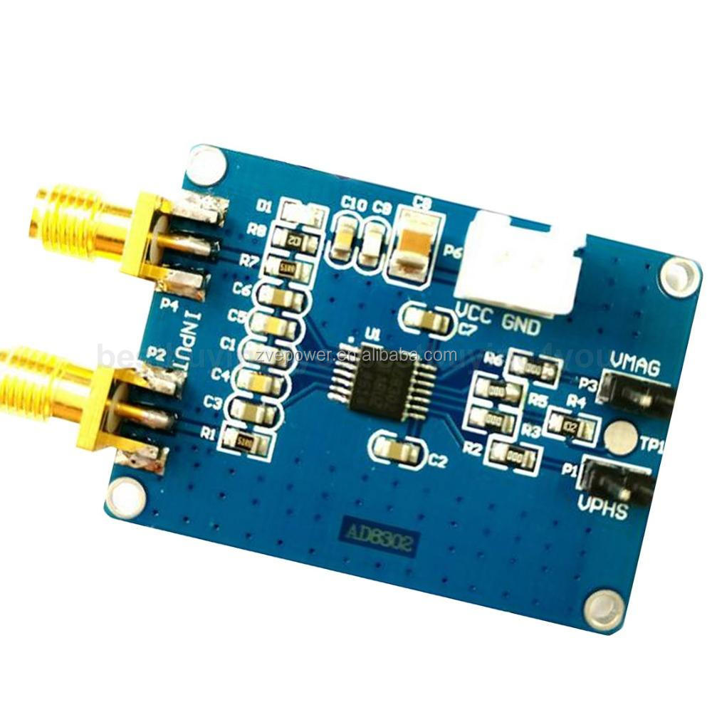 AD8302 Amplitude Phase Detection Module 2.7GHz RF//IF Phase Detector 5V