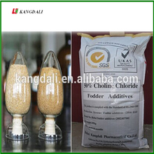 The important feed additives choline chloride for poultry and dairy