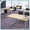 (SP-FT408) Uptop MDF laminated wood conference seminar folding table