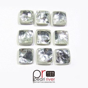 Crystal square sew on/iron on cabochon resin/plastic/acrylic stones