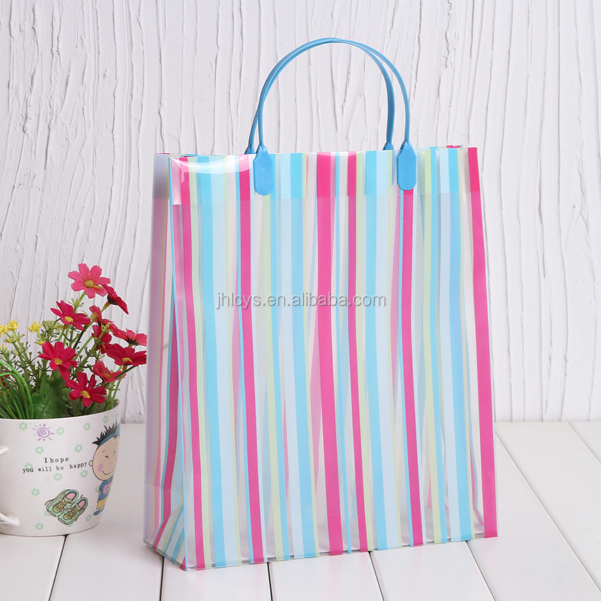 Wholesale custom logo printed handle paper carrying shopping bag