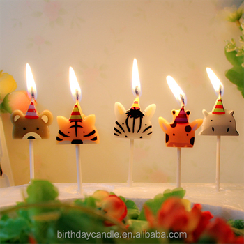 CAKE DECORATION Birthday Candle Toys Candles I LOVE YOU